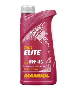 5W-40 Mannol Elite Motoröl 1 Liter