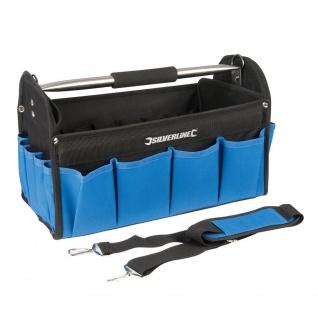 Silverline Werkzeugtasche mit verstärktem Boden