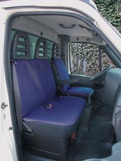 Walser Sitzbezug Set Transporter Universal Como blau