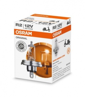 Osram Glühbirne R2 Lampe 12V 45/40W P45T-41 Standard
