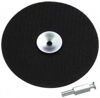 Silverline Klett Schleifteller für Bohrmaschine 125 mm