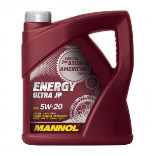 5W-20 Mannol Energy Ultra JP Motoröl 4 Liter