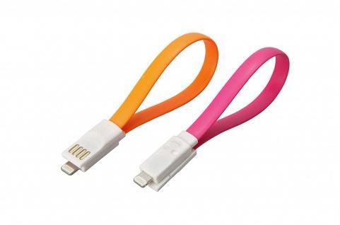 Unitec Ladekabel Datenkabel USB auf Lightning IPhone weiss