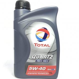 5W-40 Total Quartz Ineo C3 Motoröl 1 Liter