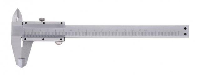 Sonic Messschieber mit Feststellschraube Schieblehre 0-150 mm