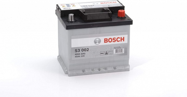 Starterbatterie Bosch S3 020 Autobatterie 12V 45Ah 400A