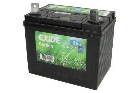 Exide Garden U1R 4900 Starterbatterie AGM 12V 24Ah 250A Rasenmähertraktor Garten