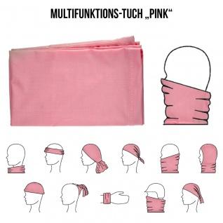 Multifunktionstuch Mund Nasen Schutz Schlauch Maske Pink