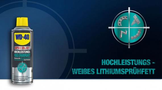 WD-40 Specialist weißes Lithiumsprühfett 400 ml