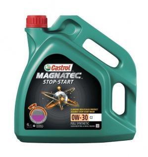 0W-30 Castrol Magnatec Stop-Start C2 Motoröl 4 Liter
