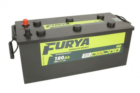 Starterbatterie Furya Autobatterie 12V 180Ah 900A