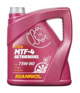 75W-80 Mannol MTF-4 Getriebeöl 4 Liter