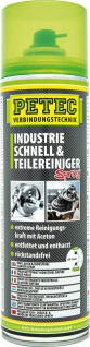 Petec Industrie Schnell & Teilereiniger Spray 500 ml