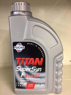 5W-30 Fuchs TITAN SuperSyn F Eco-DT Motoröl 1 Liter