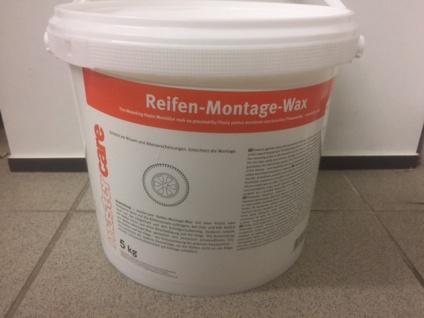 Mastercare Reifen Montage Wax weiss 5 kg