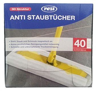 Rezi Anti Staubtücher Bodenwischer 40er
