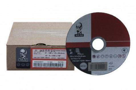 Bexom Trennscheibe Metall Inox 125 mm/1 mm