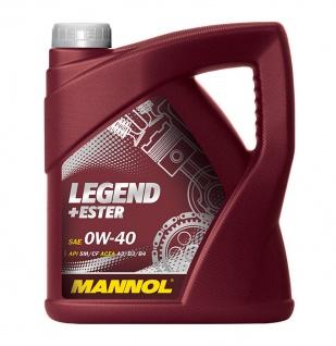 0W-40 Mannol Legend + Ester 4 Liter