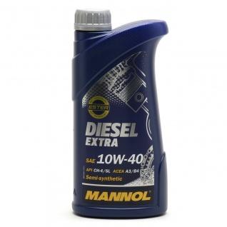 10W-40 Mannol Diesel Extra Motoröl 1 Liter