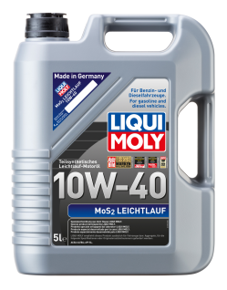 10W-40 Liqui Moly 1092 MoS2 Leichtlauf Motoröl 5 Liter