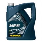 20W-50 Mannol Safari 5 Liter