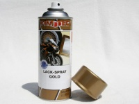 Lackspray gold