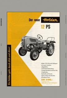 Holder 12PS allzweck schlepper trekker traktor blechschild