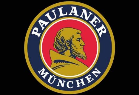 Paulaner München logo blechschild