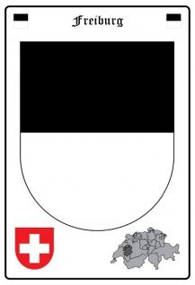 Freiburg wappen blechschild