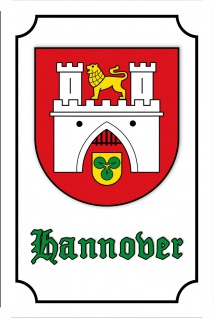 Blechschild Hannover (Hannover) Metallschild Wanddeko 20x30 cm tin sign