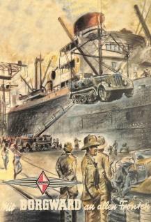 Borgward bundeswehr auto nostalgie wehrmacht schiffladen blechschild