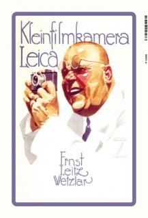 Kleinfilmkamera Leica Ernst leitz Wetzlar blechschild