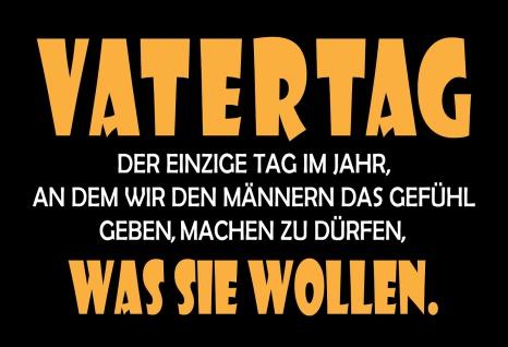 Blechschild Spruch Vatertag... Metallschild 20x30 Deko tin sign