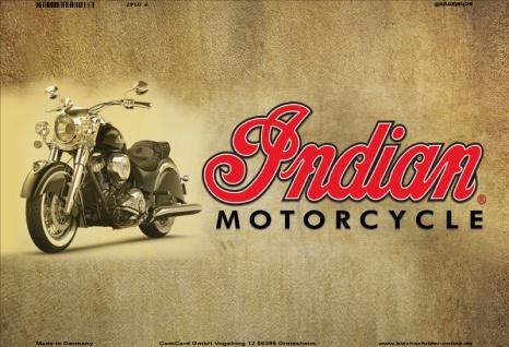 Indian Motorcycle blechschild