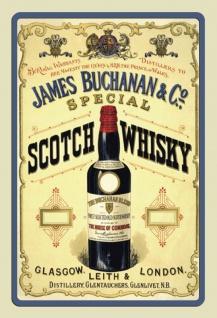 James Buchanan special Scotch whisky alkohol blechschild