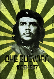 Che Guevara 1929-1967 blechschild