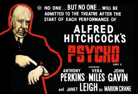 Blechschild Film Psycho Hitchcock Metallschild Wanddeko 20x30 cm tin sign