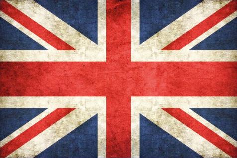 Blechschild United Kingdom Nationalflagge Metallschild Deko 20x30cm tin sign