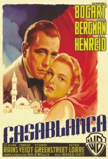 Blechschild Film Casablanca Filmplakat Metallschild Wanddeko 20x30 cm tin sign