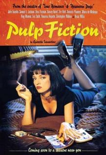 Blechschild Film Pulp Fiction Metallschild Wanddeko 20x30 cm tin sign