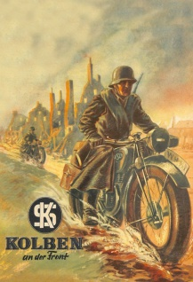 NSU motorrad bundeswehr soldat wehrmacht blechschild