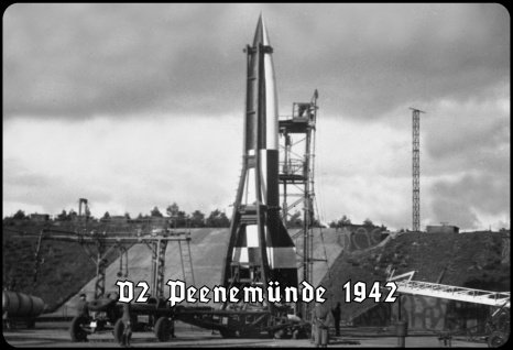 Blechschild V2 Peenemünde 1942 (Rakete) Metallschild Wanddeko 20x30 tin sign