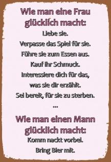 Spruche Liebe Lustig.Lustige Spruche Spruche Blechschild Online Kaufen Yatego