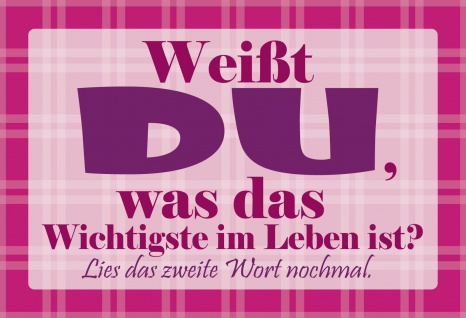 Blechschild Spruch Weißt DU Metallschild Wanddeko 20x30 cm tin sign