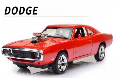 Dodge auto mit motor blechschild