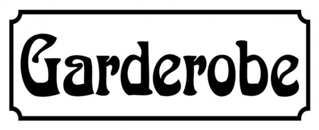 Blechschild Spruch Nostalgie Garderobe Metallschild 27x10 cm Wanddeko tin sign