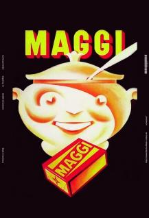 Maggi blechschild
