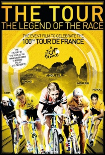 Retro: The Tour film plakat 100. Tour de France Blechschild 20x30 cm