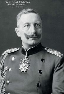 Kaiser Friedrich Wilhelm II. Deutsches Reich Blechschild