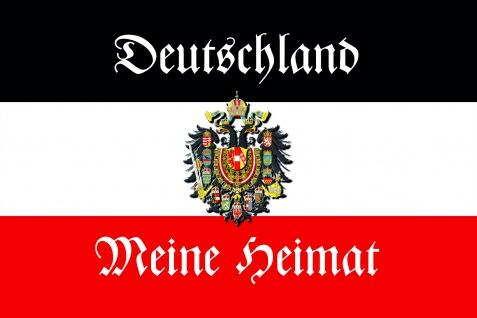Deutschland meine Heimat blechschild